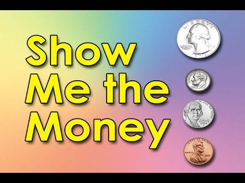 Coin clipart show me the money Math Bills Counting & Coins