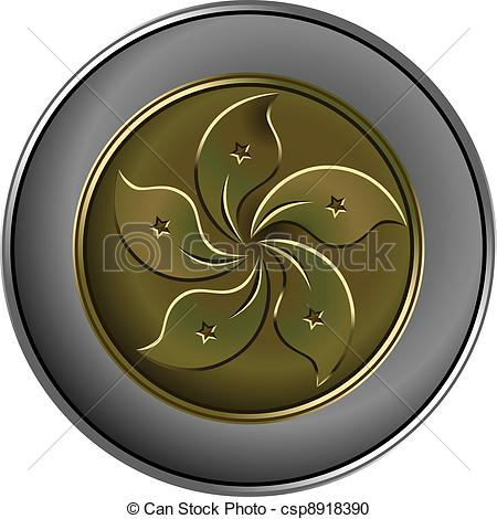 Coin clipart silver and gold Coin money Chinese silver gold