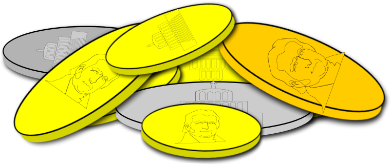 Coin clipart silver and gold Coin use Free Pictures to