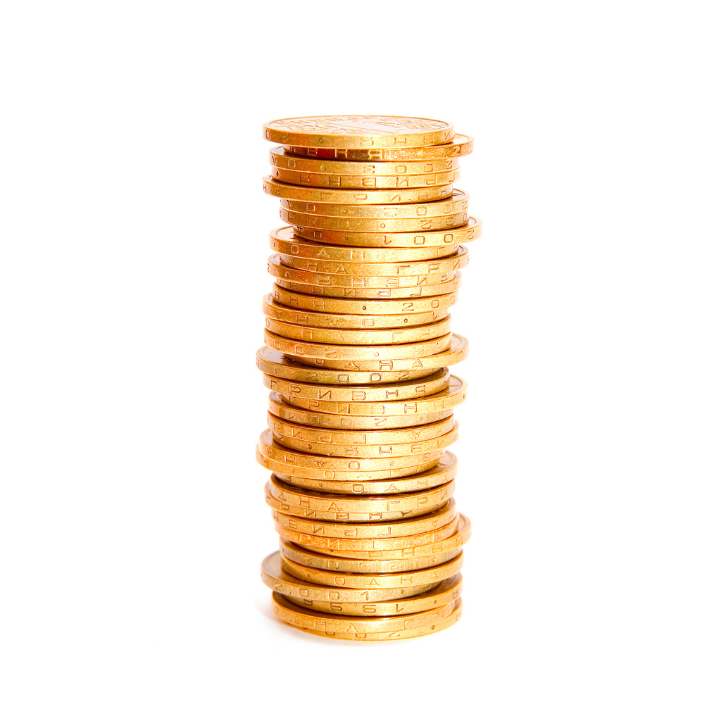 Coin clipart stack coin Skobrik coins of Flickr of