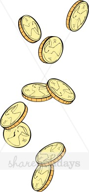 Coin clipart wedding Coins Day Patrick's Clipart Coins