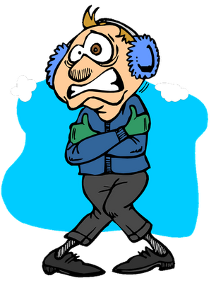 Chill clipart february weather Labels October Unleashed: Cold No