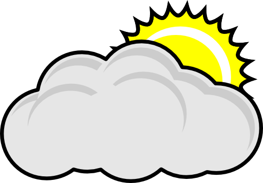 Clouds clipart cloudy weather Panda Cloudy Clipart Clipart Free