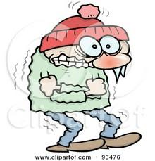 Cold clipart cold person Person Clip collection Art Cold