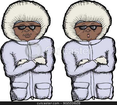 Cold clipart cold person Person Cold Person vector stock