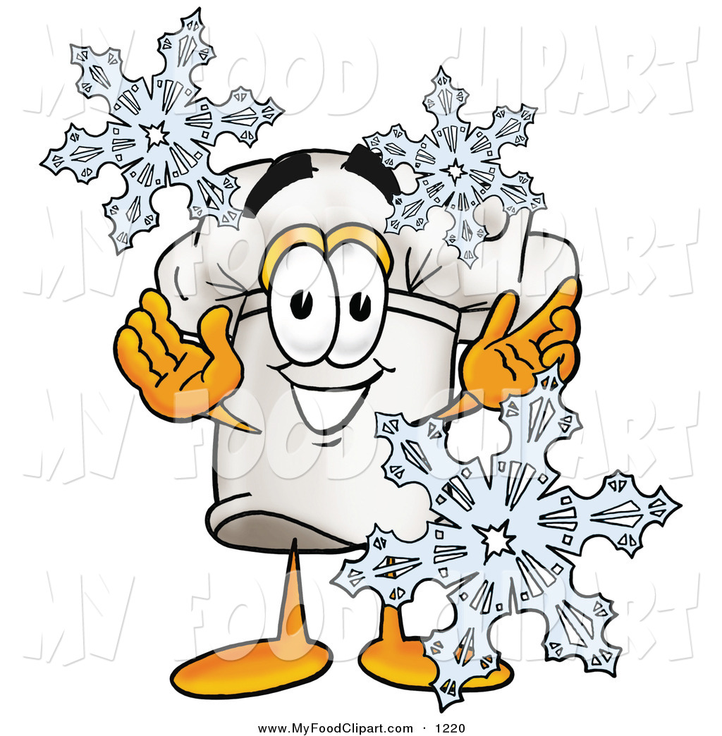 Winter clipart character Character Clip Hat Food a