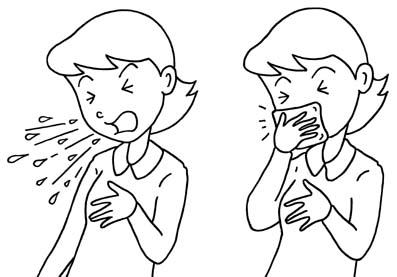 Covered clipart cough cold Cough Clip Good Art Coughing