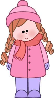 Winter clipart snowsuit Cold warm Free  Clip