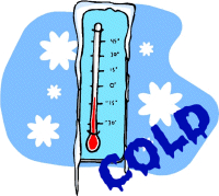 Chilling clipart freezing point Art Free Images Weather Cold