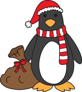 Sanya clipart penguin Clause%20clipart Images Penguin Santa Clipart