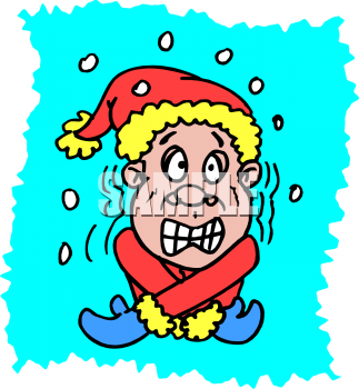 Chill clipart homeostasis Shivering Snow Clip Clip Art
