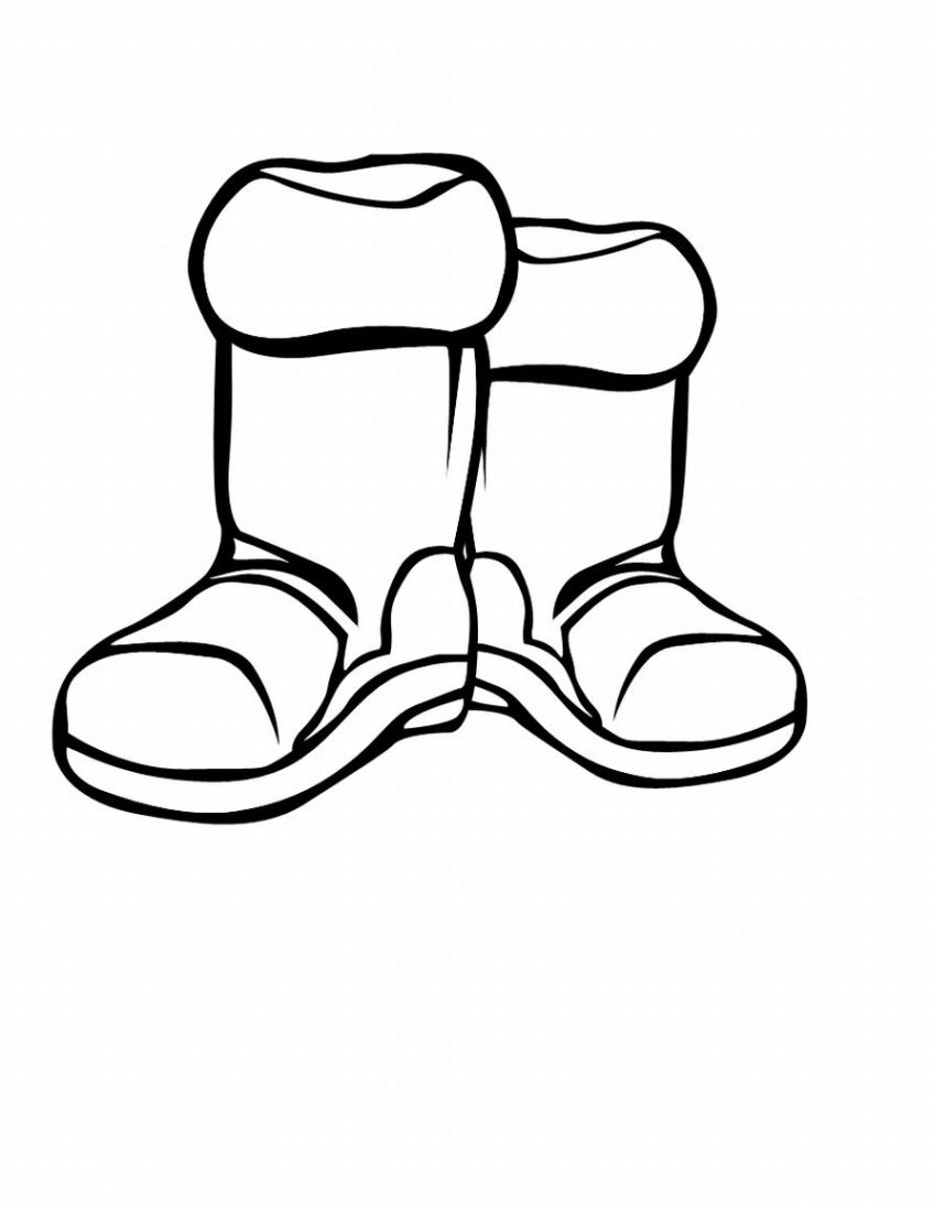 Blue Dress clipart kid winter boot Clothes Clipart Pictures Library For