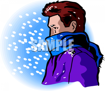 Cold clipart snowy weather Man of Snow Clip