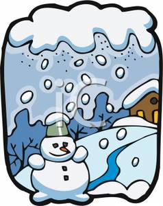 Cold clipart snowy weather Bay Art Snowy Snowy Clip