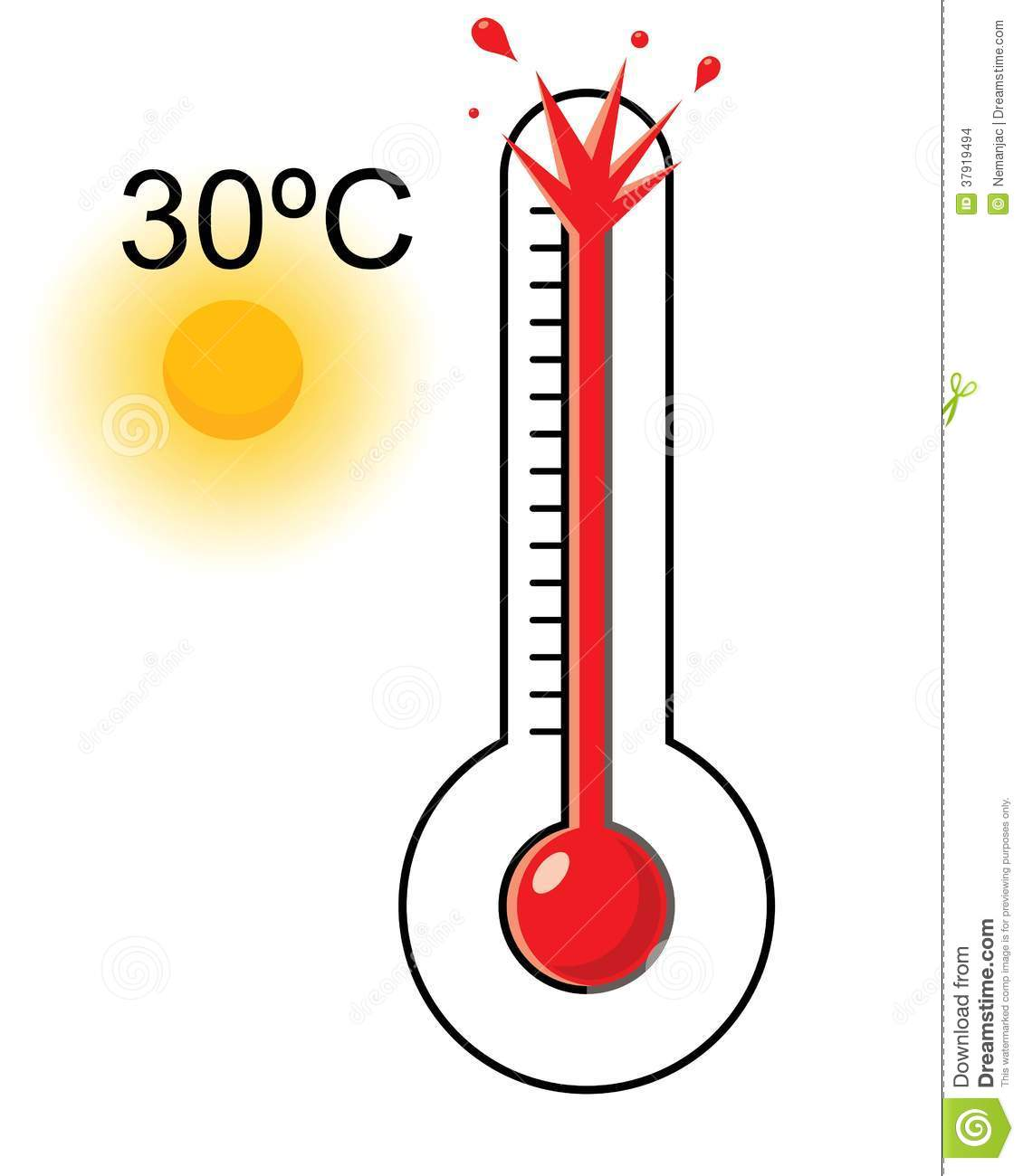 Chill clipart mild weather Weather Very Hot Clip clipart