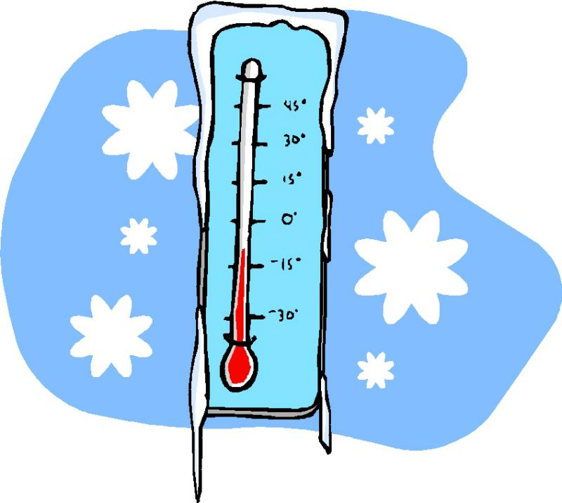 Chill clipart snowy weather Fire Cold No 1