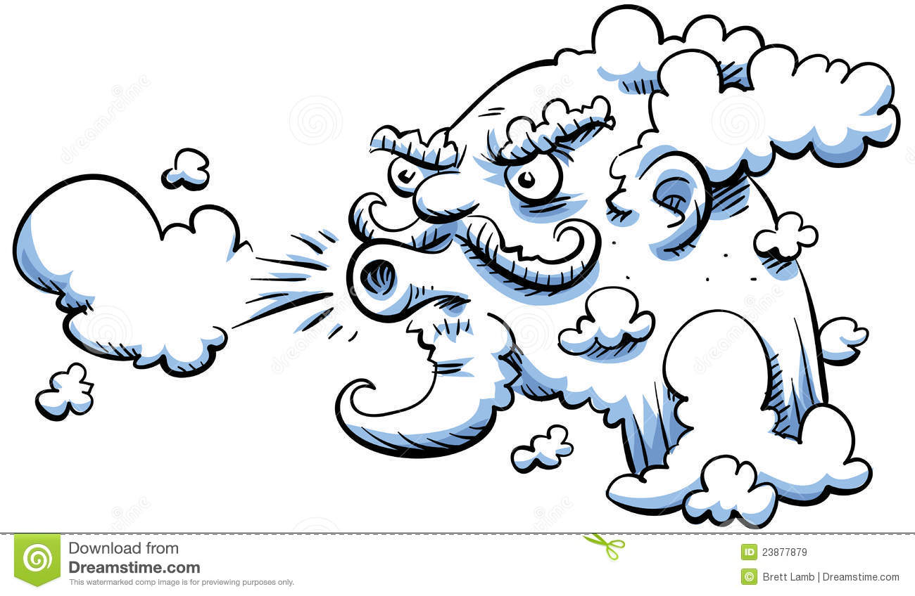 Wind clipart wind blowing Clipart Wind Leaves Wind In