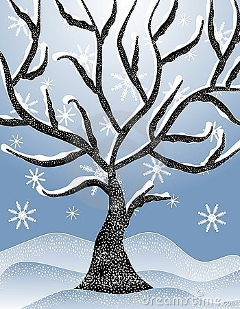 Winter clipart winter tree Clipart: Tree Clipart Art Clip