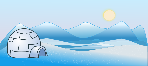 Chilling clipart cold climate As: Clker Download online image