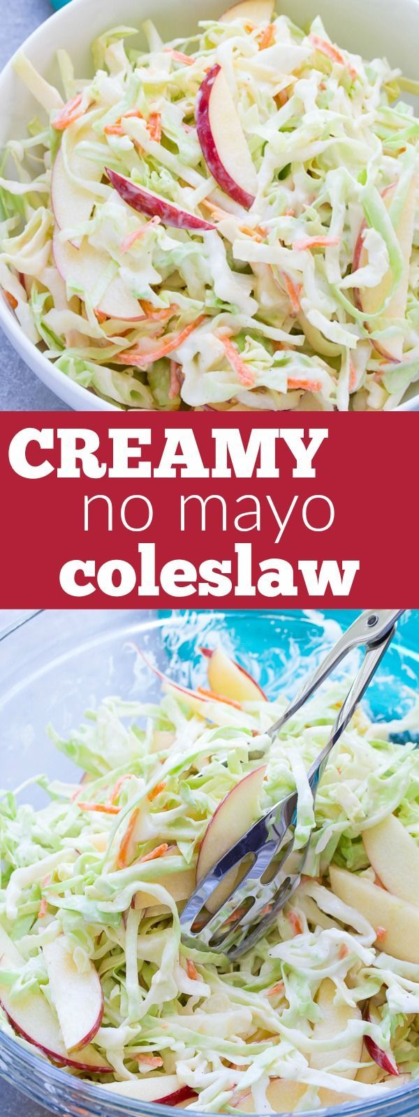 Coleslaw clipart grilled Apple Creamy No Mayo on
