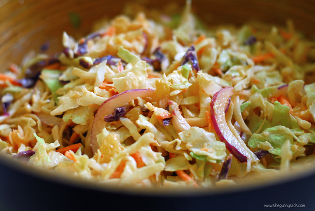 Coleslaw clipart grilled Slaw Mix the coleslaw The