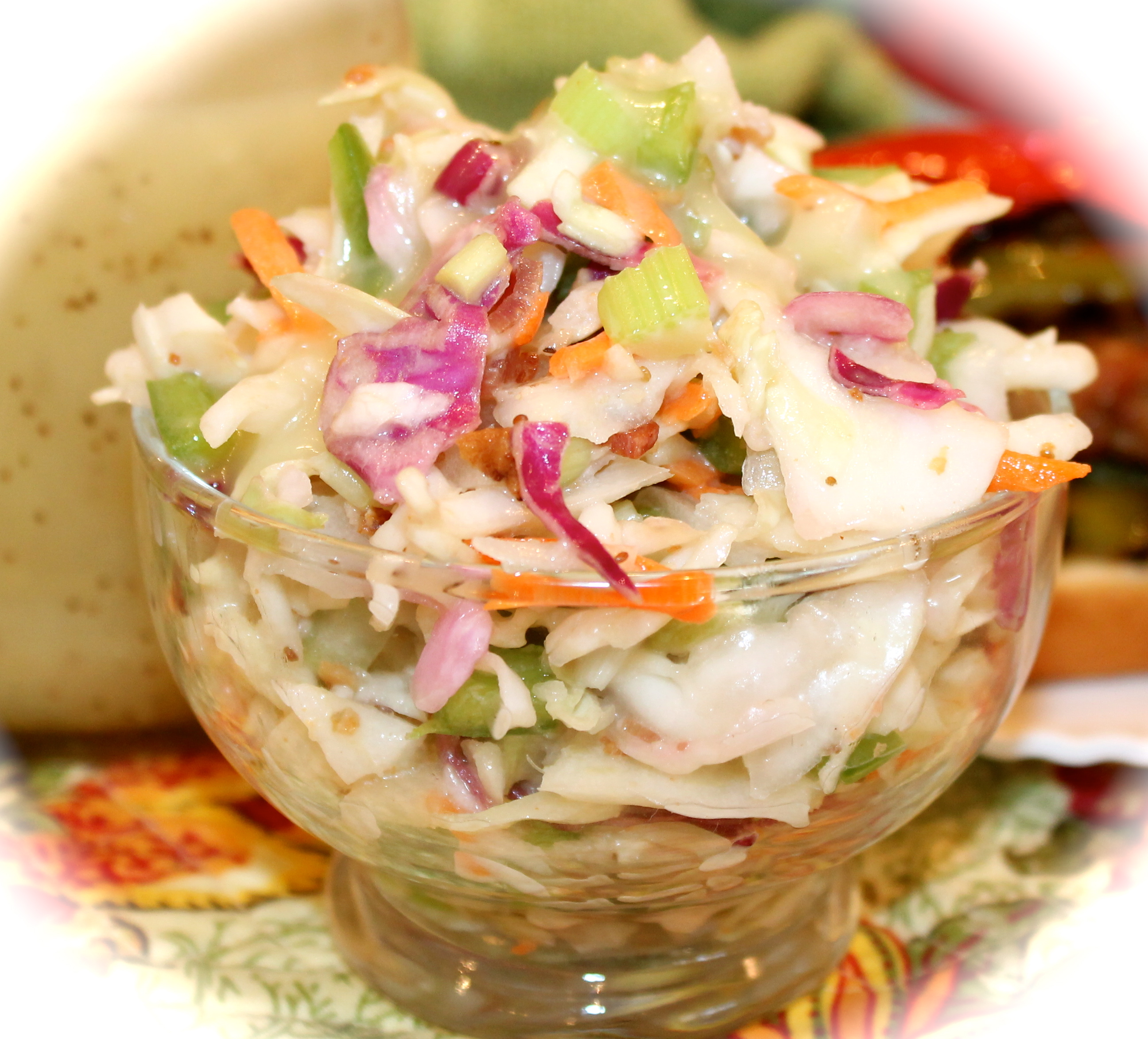 Coleslaw clipart soup and salad 'slaw