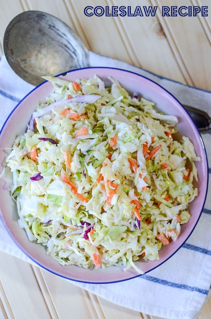 Coleslaw clipart tossed salad Quick 20+ at homemade time