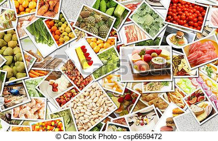 Collage clipart Food Diet Clip Art Food