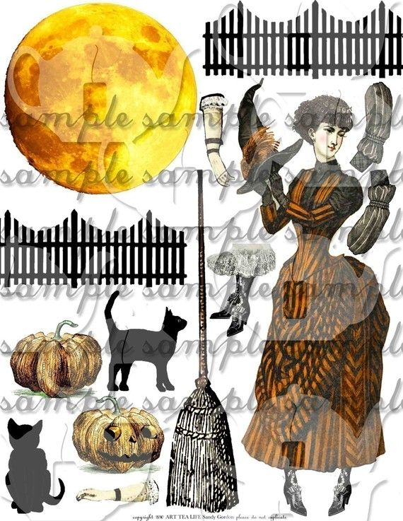 Witchcraft clipart halloween full moon On Halloween best Sheets Find