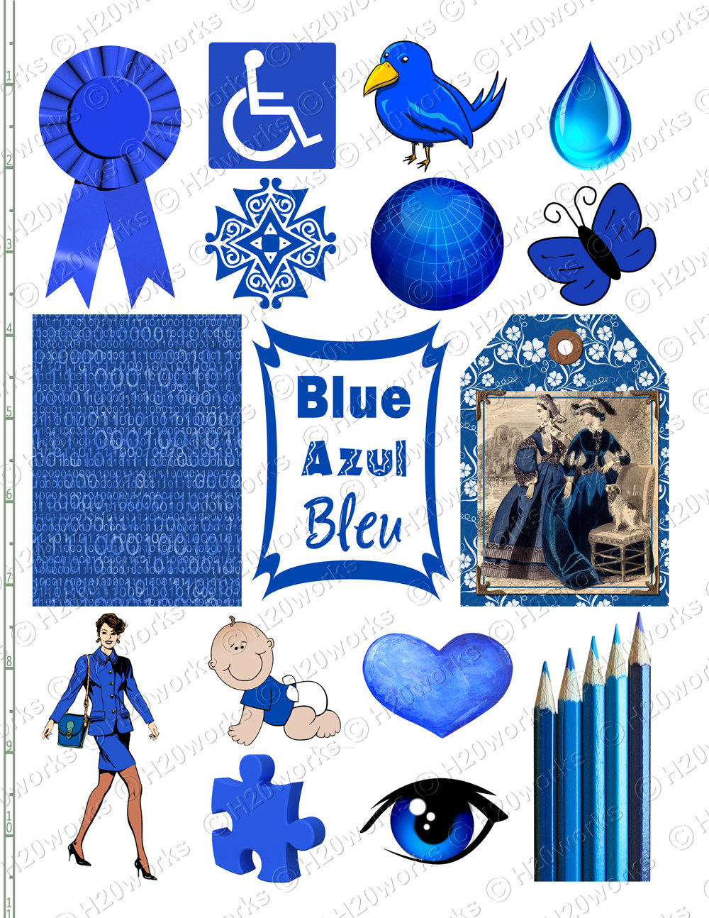 Blueberry clipart blue object Trading Artist Things Ribbon are