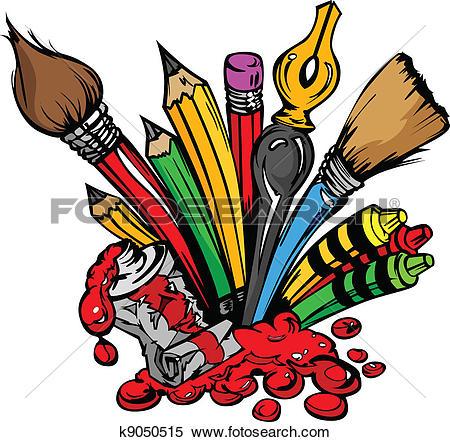Color clipart art material Clipart supplies art art supplies