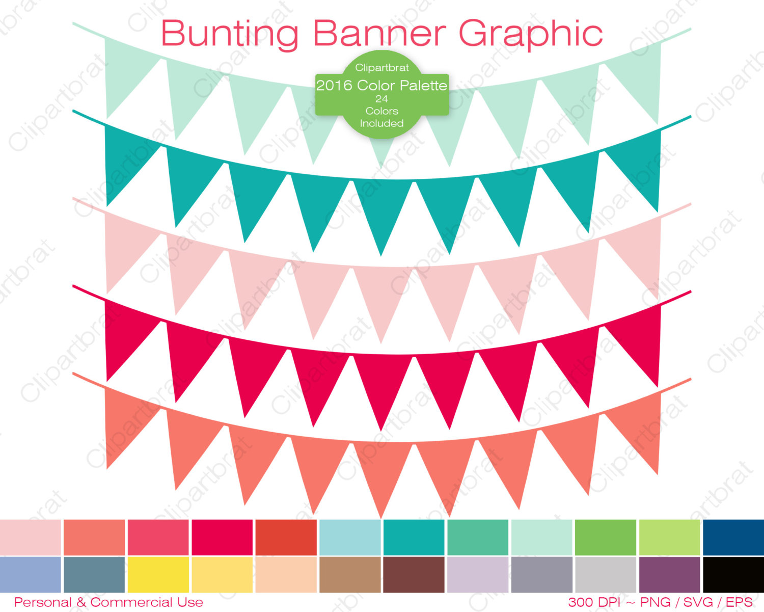 Color clipart banner Pennant BANNER Eps Graphic Graphic