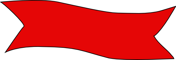 Color clipart banner Art com at Banner vector