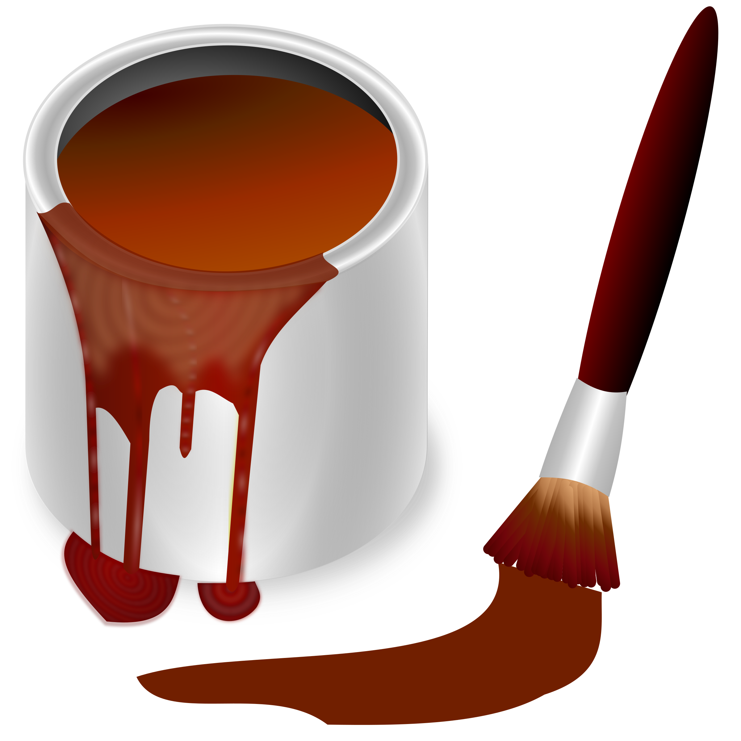 Color clipart brown color Color collection clipart bucket Clipart
