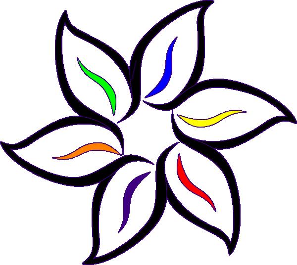 Petal clipart flower coloring Color color color clipart clipart