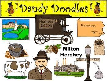 Color clipart factory Milton Dandy best Dandy Doodles