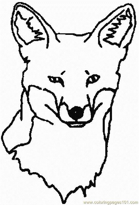 Color clipart fox Clipart Clipart Images face Clipart