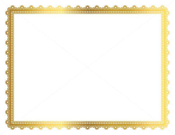 Color clipart frame Vintage Gold color Frame Paper