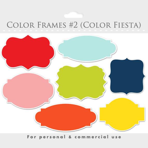 Color clipart frame Color frames collection frames frames