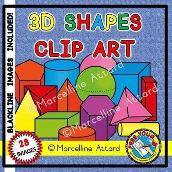 Color clipart geometric shape 3939 geometry clipart shapes Pinterest