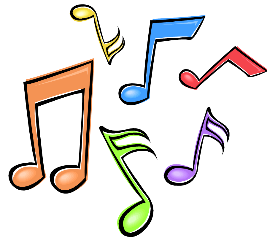 Color clipart music Notes clipart musical musical clip