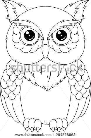 Color clipart owl Coloring art Shutterstock Pictures Photos