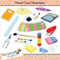 Color clipart stationery Related Light stationery is and