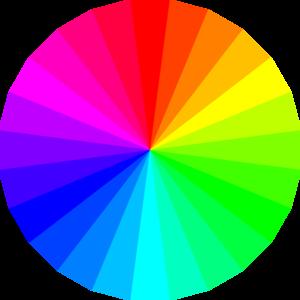 Color clipart transparent background Color Clker Wheel Clip art