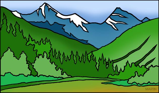 Colorado clipart  Colorado mountain Rocky Gif