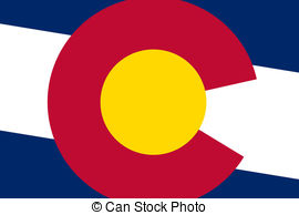 Colorado clipart Royalty flag flag  Colorado