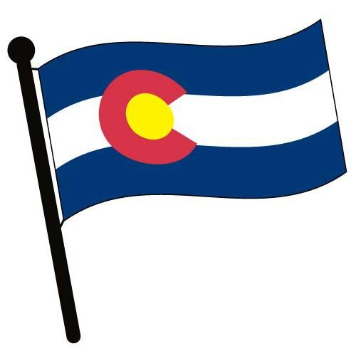 Colorado clipart Flag Accessories Pictures Waving Views