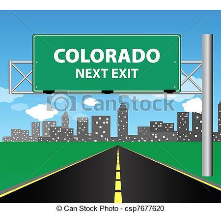 Colorado clipart A Colorado over  Colorado