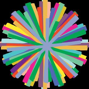 Colorful clipart Starburst Starburst art com Colorful
