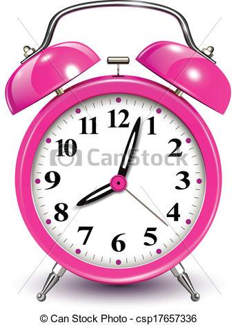 Colouful clipart alarm clock #4